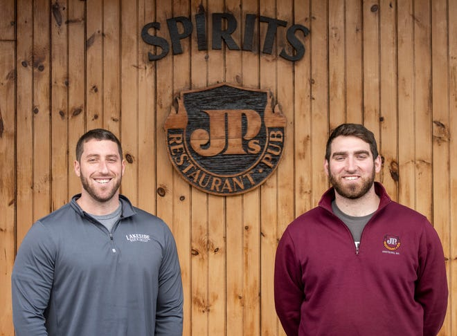 Brothers Ben, left, and Joe Kaplan are the new owners of JPs Restaurant & Pub in Westboro.