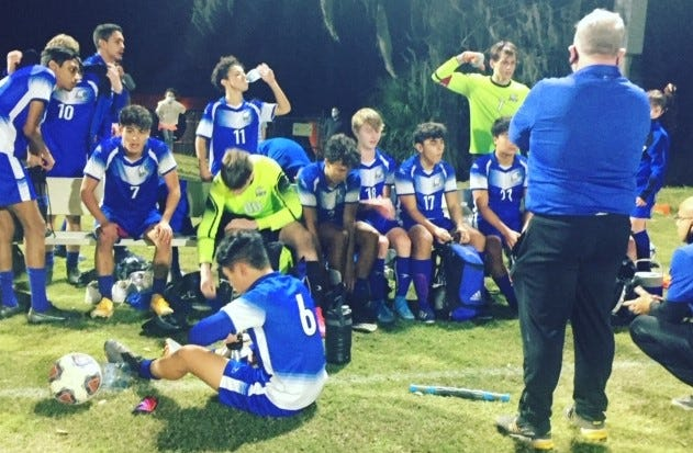 P.K. Yonge ended a decade-long boys soccer losing streak to arch-rival Keystone Heights with a 3-1 home win Thursday.