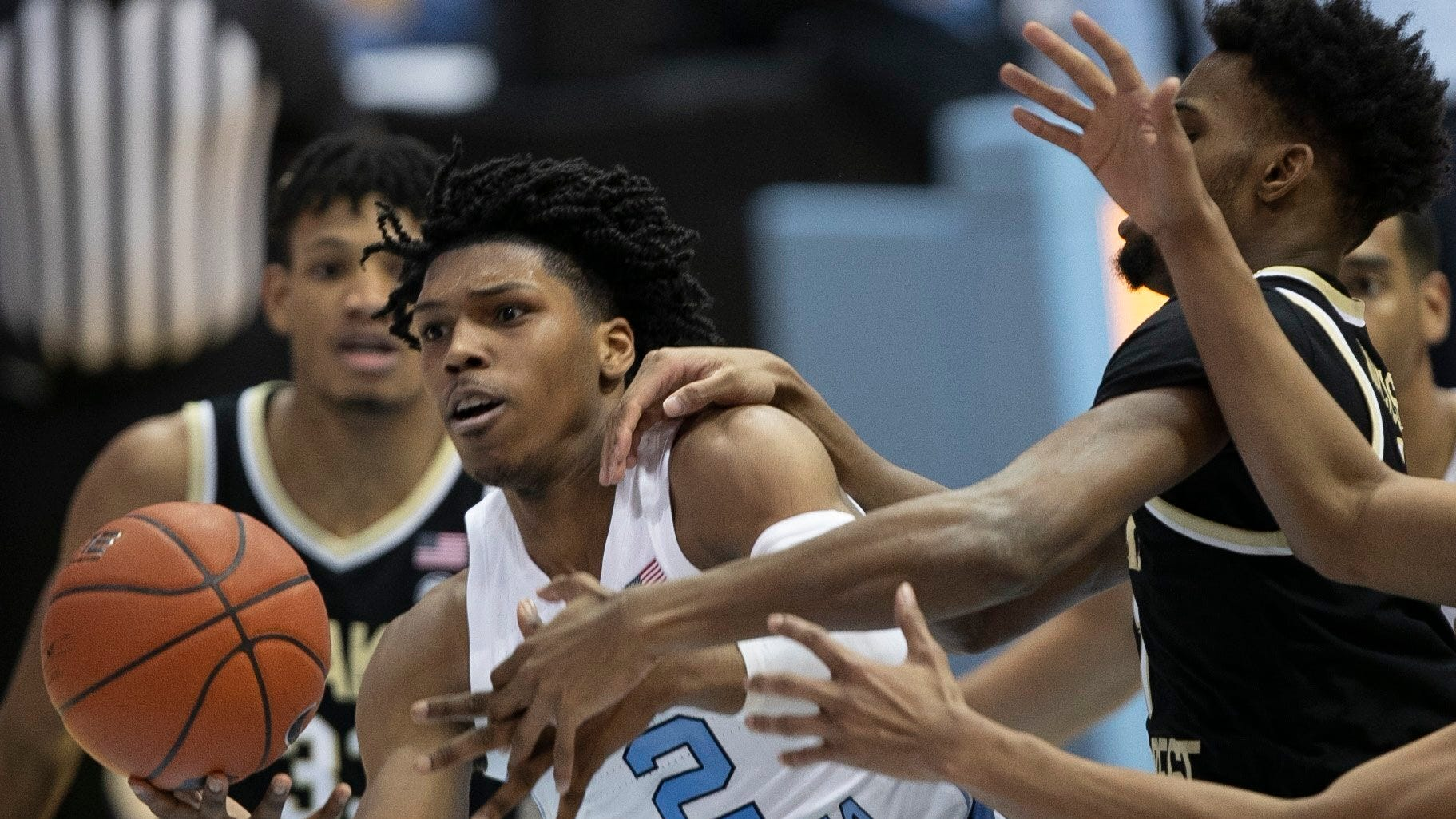 UNC's Caleb Love tries meditation to soothe struggles, bring success into focus