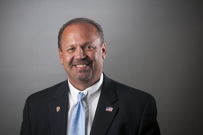 Paul Russ in 2016 during his campaign for San Bernardino County 1st District Supervisor.
