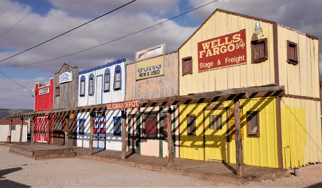 The town of Seligman, Arizona offers a taste of the Old West.