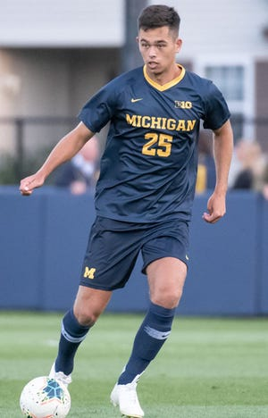 Michigan defender Jackson Ragen was selected in the second round by the Chicago Fire.