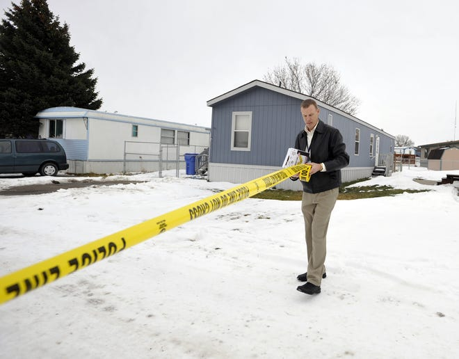 City Commissioners voted to establish a Crime Task Force to examine and create recommendations for how to tackle the issue in Great Falls. Pictured above, former Police Chief Dave Bowen of the Great Falls Police Department set a perimeter around a scene of a domestic disturbance.