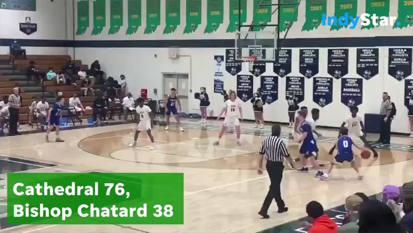 Highlights: Cathedral 76, Bishop Chatard 38