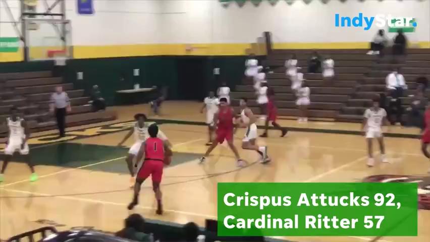 Highlights: Crispus Attucks 92, Cardinal Ritter 57