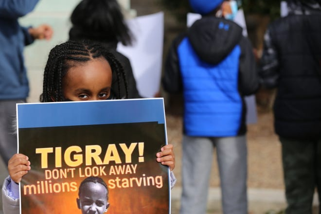 Louisville's Ethiopian community called on the Biden Administration to ramp up pressure to stop the conflict in their nation's Tigray region. which they said has caused a humanitarian disaster.