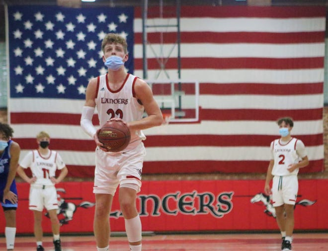 St. John's Northwestern guard Brandin Podziemski finished the season second in the state in scoring with an average of 35.1 points a game.