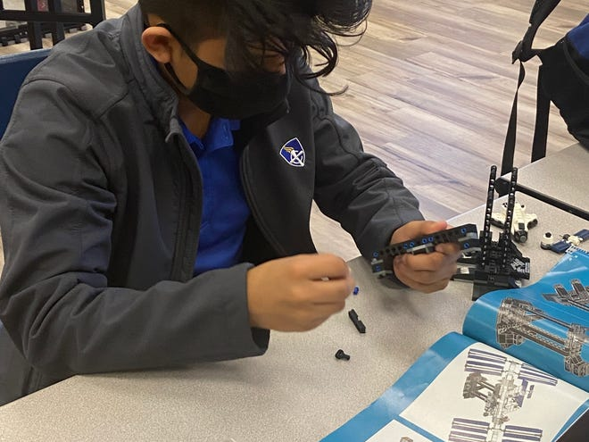 Montgomery Catholic's new Maker Space is a dedicated room for students to be creative and use tools and materials on hand to build primarily technical and artistic projects.