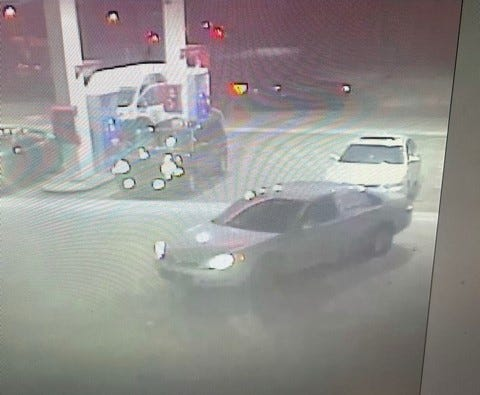 Metro Nashville police are searching for this car, which was stolen from a gas station with a baby inside.