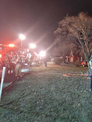 Yorkana Fire Co. responded to a fire in Windsor Township on Thursday  Jan. 21, 2021.