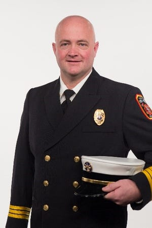 Matthew McAreavey was named the next Sioux Falls Fire Chief. He will take the title after Brad Goodroad retires in February 2021.