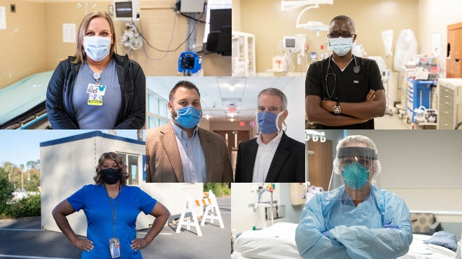 2020's people of the year: Health care workers