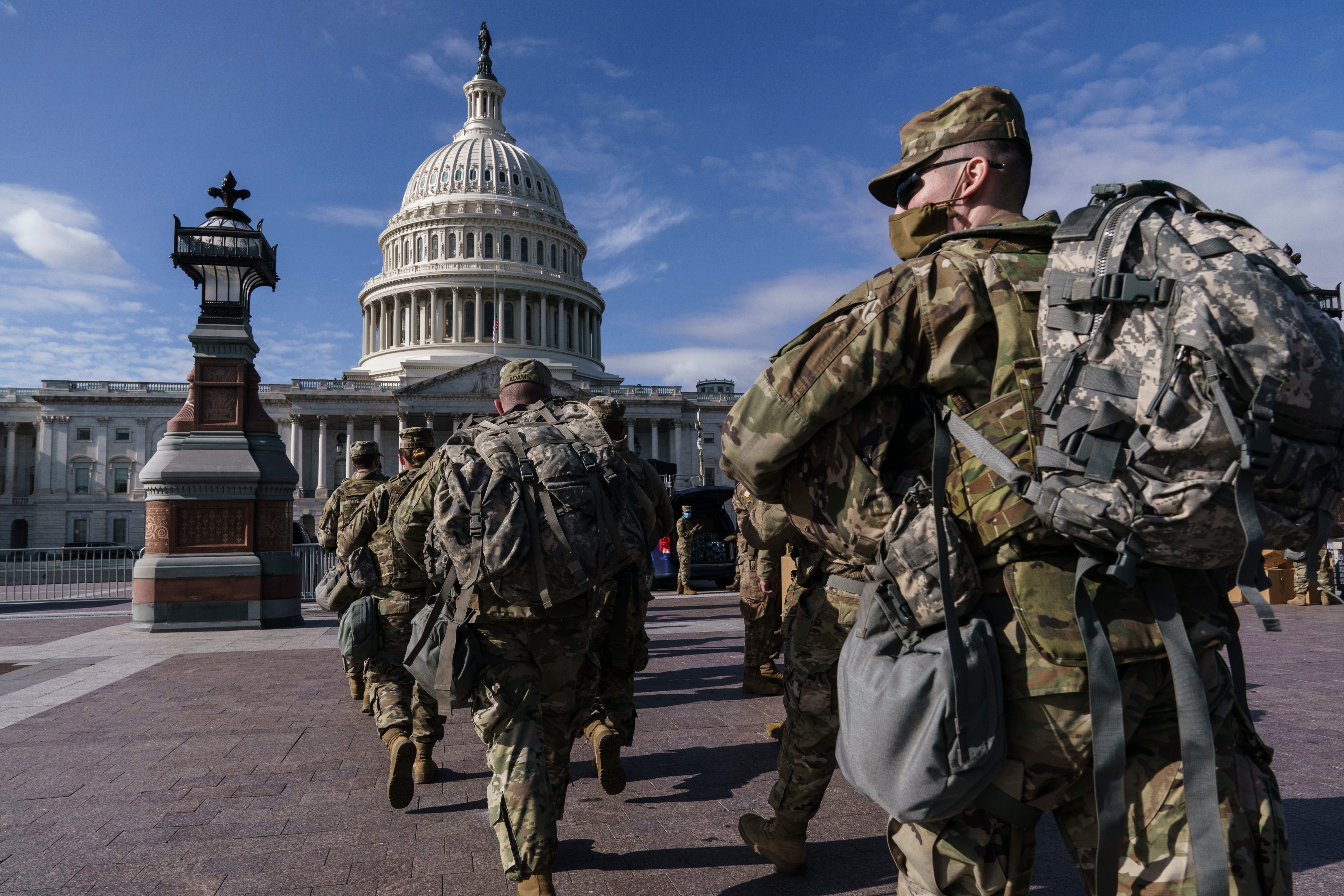 National Guard troops head home after helping secure Biden inauguration