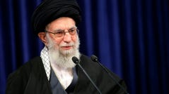 Twitter says on Friday, Jan. 22, it has permanently banned an account connected to the office of Iran's supreme leader. Other accounts thought to be tied to Supreme Leader Ayatollah Ali Khamenei's office remained active.