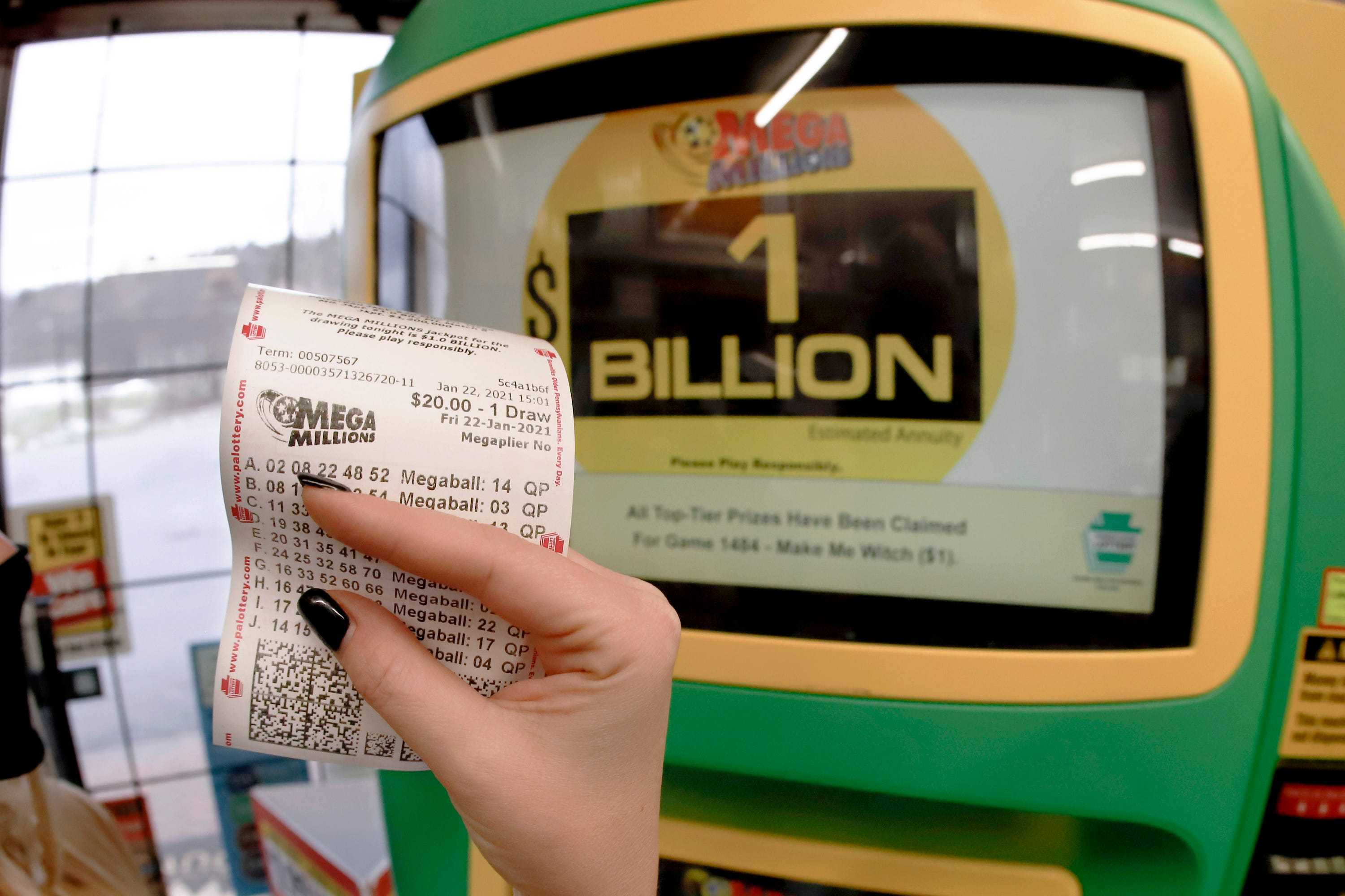 The Mega Millions $1 billion jackpot is the third largest in US history. Here are Friday s winning numbers.