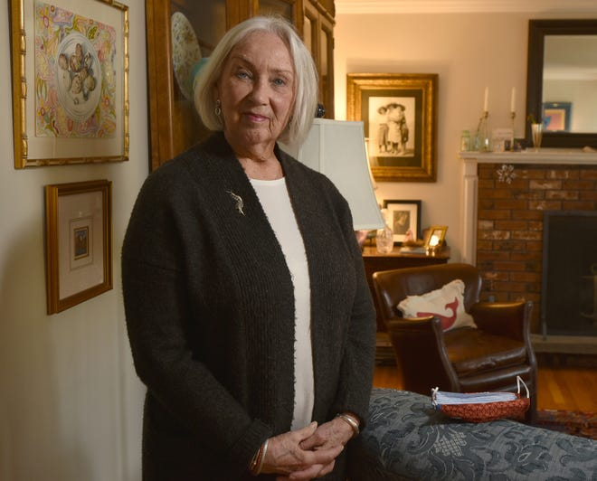 """Paula Finkle is turning 80 in another week and is concerned about the way the state is rolling out the COVID-19 vaccine to senior citizens.  """"I'm not understanding why we aren't even in the queue for phase one,"""" she said. [Steve Heaslip/Cape Cod Times]"""