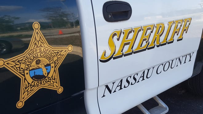 Nassau County Sheriff's Office shield.