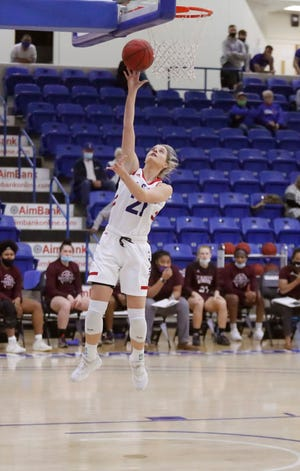 LCU guard Allie Schulte scored 14 points Saturday, helping the third-ranked Lady Chaparrals complete a two-game series sweep of Lone Star Conference South Division leader Texas A&M International. Schulte scored nine points in a 71-61 victory Friday.