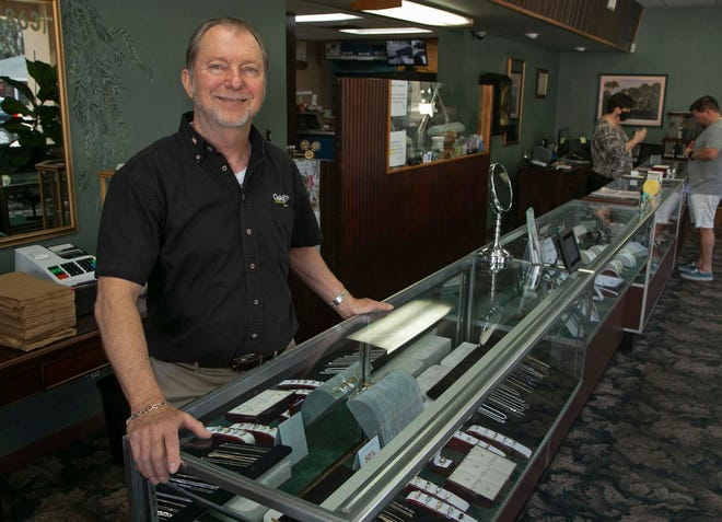 Ron Oakley, 67, owner of Oakley Jewelers in Lakeland, is retiring. Oakley Jewelers has been in business since 1947. Oakley, who took over the business from his father Roland Oakley in the early 1980's, is closing the business.