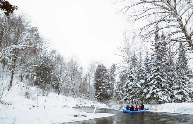 Winter is a great time to float as long as one is prepared for the dangers of cold weather and water.