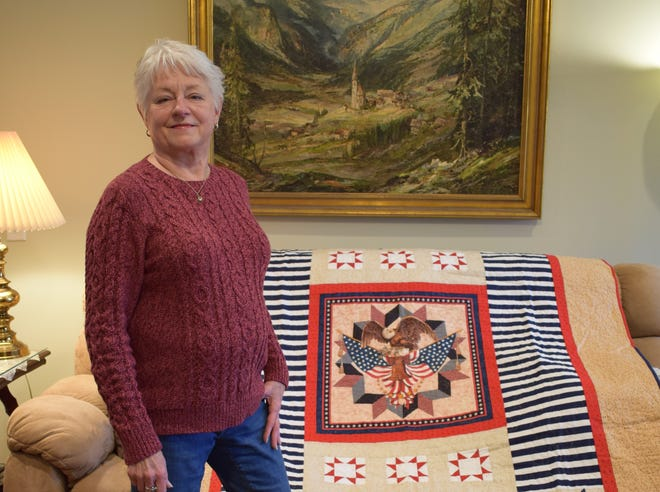 Jo Ann Gross has dedicated her time to giving back and showing her appreciation for service members of various generations.
