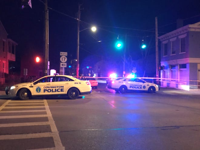 Covington police responded to a shooting, in which five people were shot, in the 200 block Martin Luther King Boulevard just east of the intersection with Greenup Street.