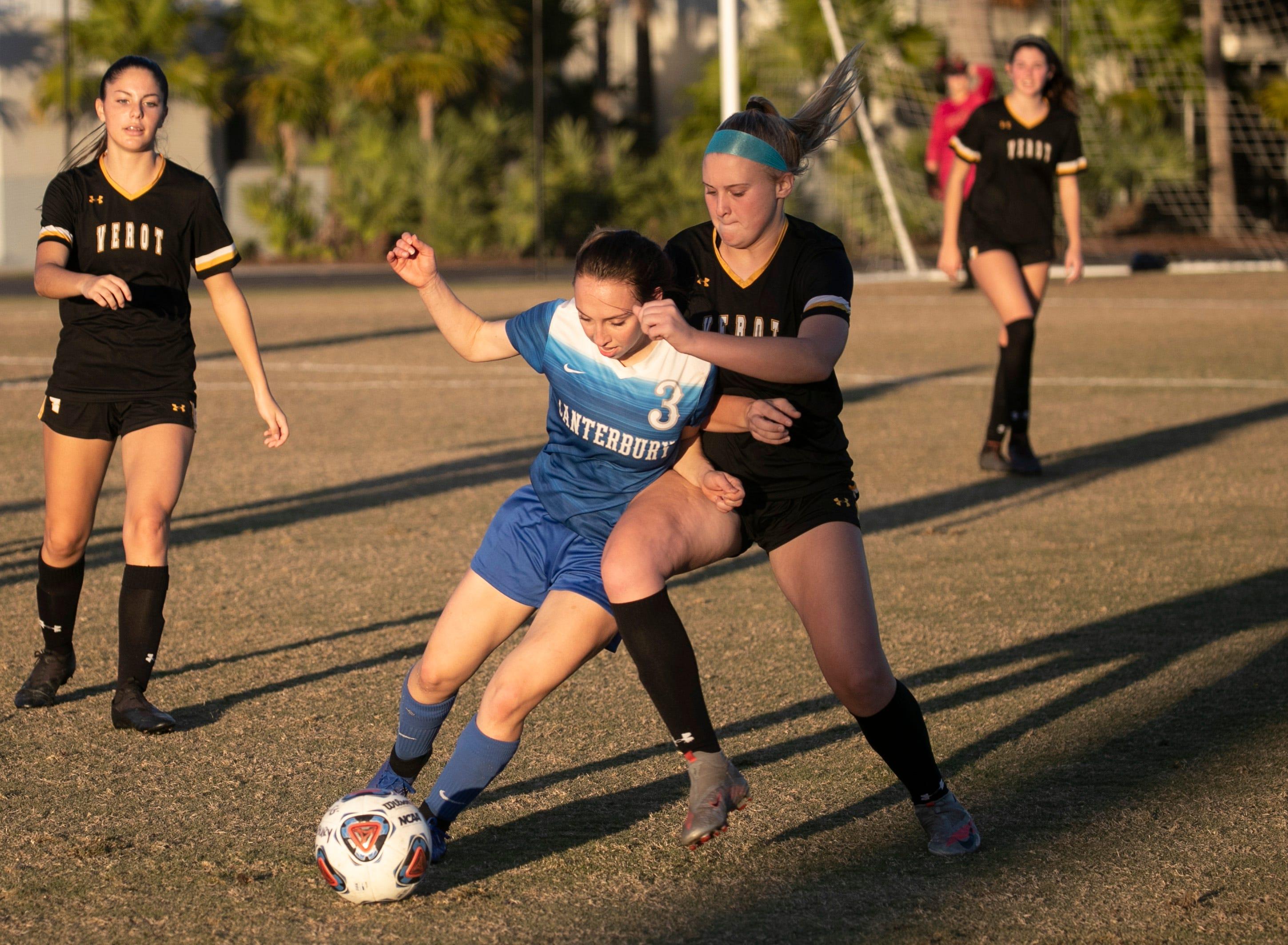 Canterbury vs. Bishop Verot girls soccer