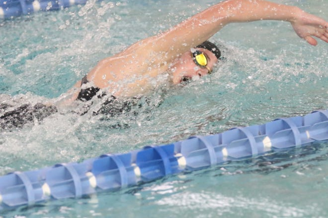 Ontario's Brienne Trumpower helped set four MOAC records on Saturday.