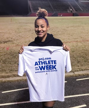 Athlete of the Week - Madison Dulay - West Florida High School soccer player.  Friday, Jan. 22, 2021.