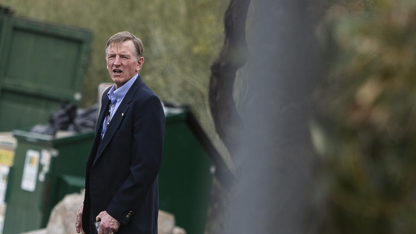 Wait, Rep. Paul Gosar doesn't want 'show me your papers' laws? Now, that's funny.