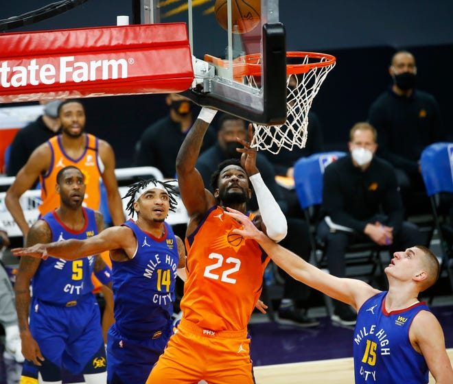 Deandre Ayton and the Phoenix Suns take on Nikola Jokic and the Denver Nuggets in the Western Conference semifinals.