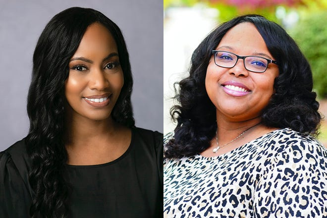 (L-R) Felicia Williams named director engagement at FSU; Sierra Turner named director of Student Equity and Inclusion at FSU