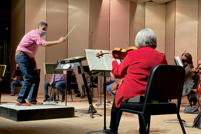 """The WFSO string group will perform Tchaikovsky's """"Serenade for Strings in C Major"""" (1880), Johan Strauss II and Joseph Strauss's """"Pizzicato Polka for Orchestra"""" (1870) and Edvard Grieg's """"Holberg Suite"""" (1884-85)."""