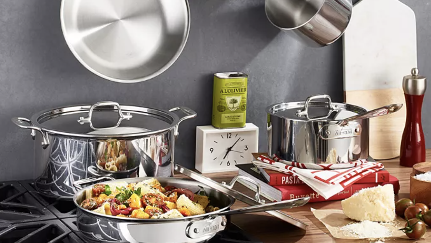 All-Clad cookware sets are nearly half off right now at Macy's