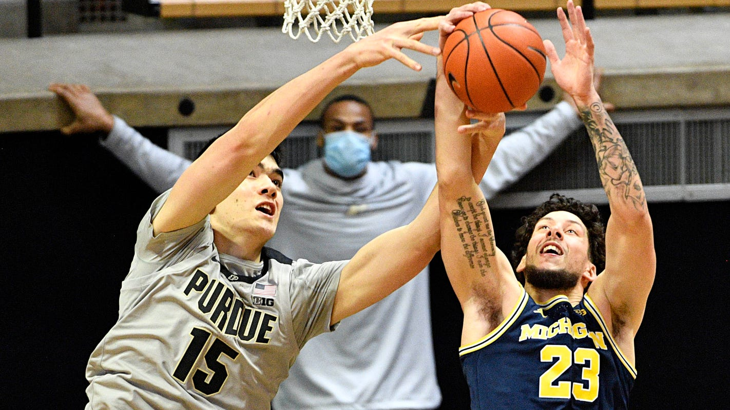 Why No. 7 Michigan basketball decided to play Purdue despite Stefanovic's positive COVID-19 test