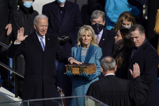 President Joe Biden will have to contend with the corrupt and the clueless in the Republican Party, Paul Krugman writes. [Kent Nishimura/Los Angeles Times/TNS]