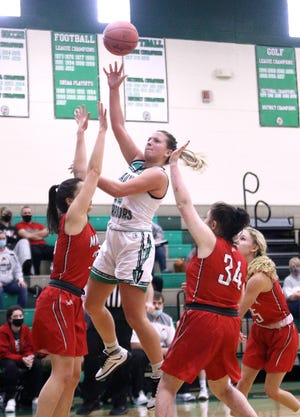 Sydney Mercer and her West Branch teammates will open Division II tournament play on February 20. The Warriors are defending district champions.