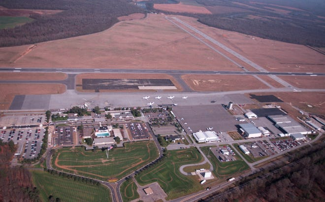 Augusta Regional Airport was owed more than $1 million in outstanding bills in 2002, with the Defense Department topping the list.