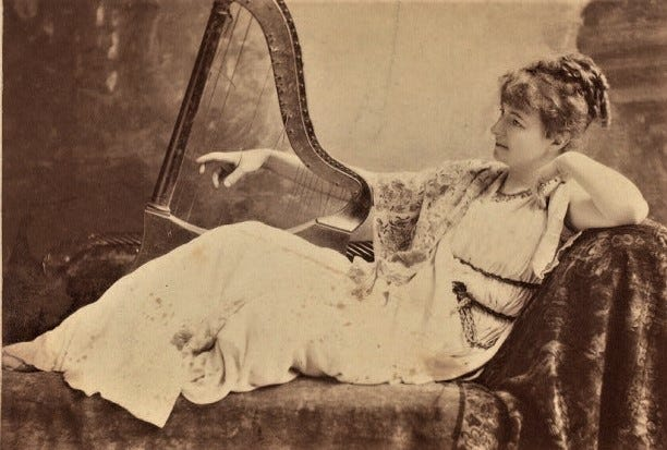 Helen Modjeska was a provocative actress and performer in the 1800s.