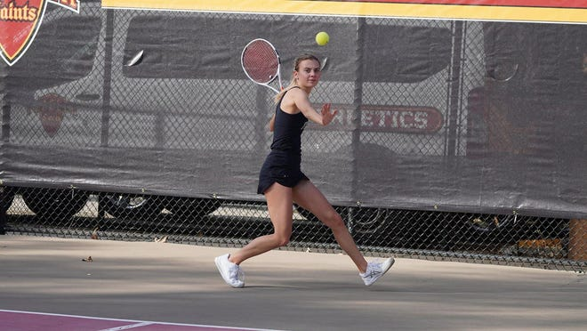 Flagler College women's tennis team  lost 7-0 at theUniversity of North Florida in Jacksonville.