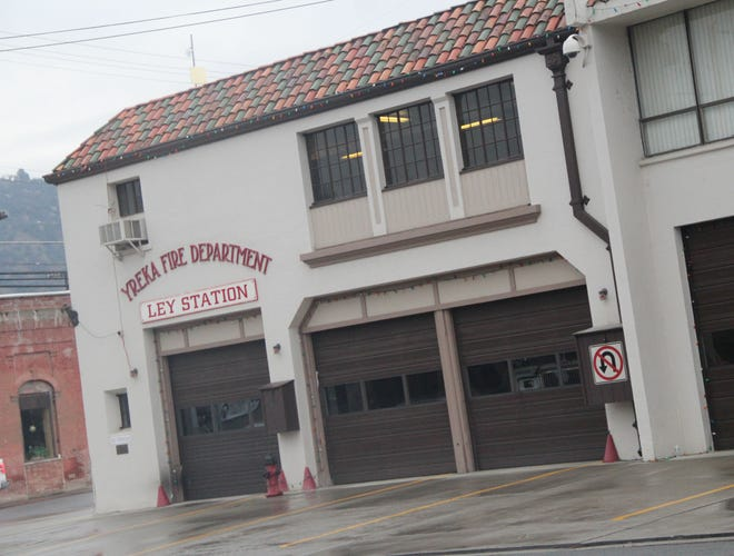 The current Yreka Fire Station.
