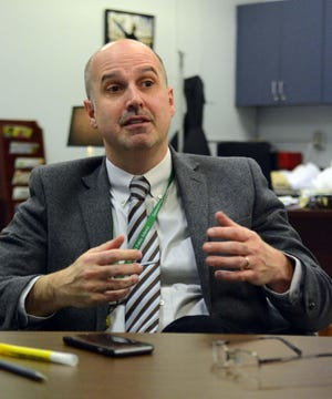 Sean McKenna is Griswold Superintendent of Schools.