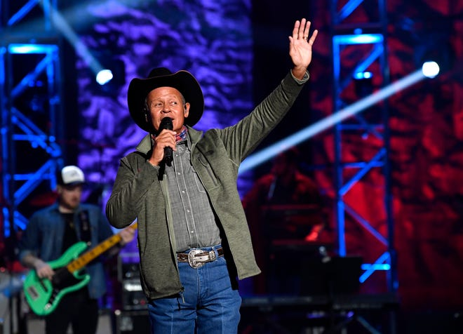 Neal McCoy performs during Saturday night's Rehab 2021 Telethon and Auction at the Abilene Convention Center. It was the 51st annual telethon benefitting West Texas Rehabilitation Center.