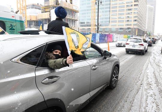 La comunidad india de Metro Detroit celebrará una manifestación de automóviles para apoyar a los agricultores indios en Detroit el 24 de enero de 2021.