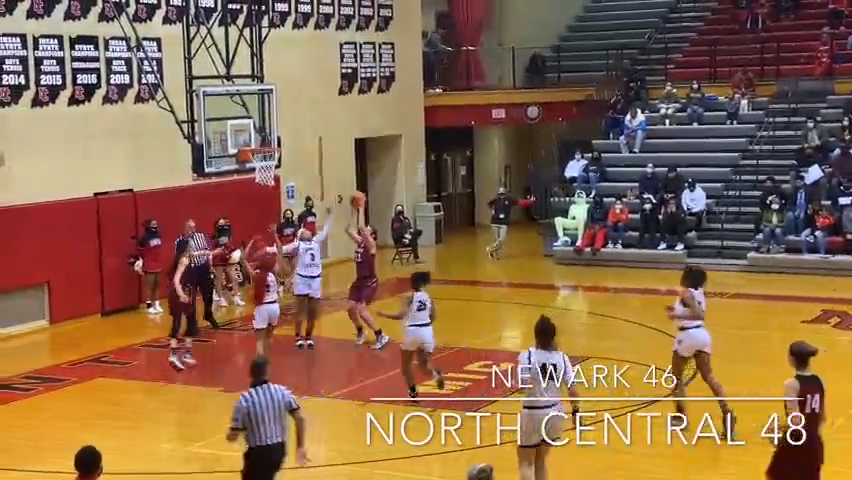 Highlights: North Central girls takes on top-ranked Ohio team