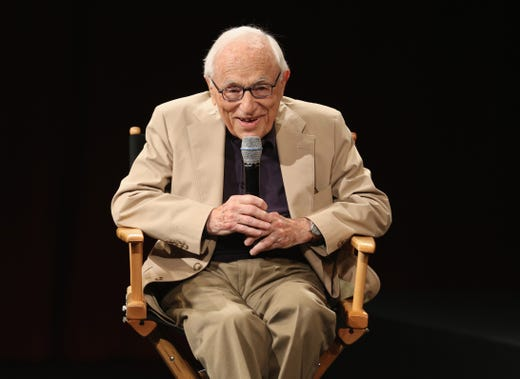 """Screenwriter <a href=""""https://www.usatoday.com/story/entertainment/movies/2021/01/24/blacklisted-hollywood-screenwriter-walter-bernstein-the-front-dies/6693163002/"""" target=""""_blank"""">Walter Bernstein</a>, among the last survivors of Hollywood's anti-Communist blacklist, died Jan. 23 at 101. He died from pneumonia, his wife, literary agent Gloria Loomis, told The Associated Press.&nbsp; His Oscar-nominated script for &quot;The Front,&quot; which starred Woody Allen, drew upon his years of being unable to work under his own name."""