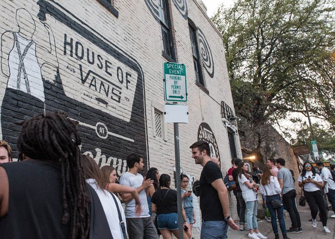 "For several years, Vans hosted the House of Vans at the Mohawk during South by Southwest. The skate-wear company has teamed up with the Red River Cultural District on a design that will benefit the RRCD's ""Banding Together"" program."