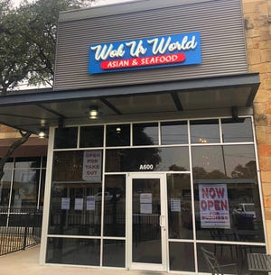 Wok Ur World is now open at South MoPac Boulevard (Loop 1) and William Cannon Drive.