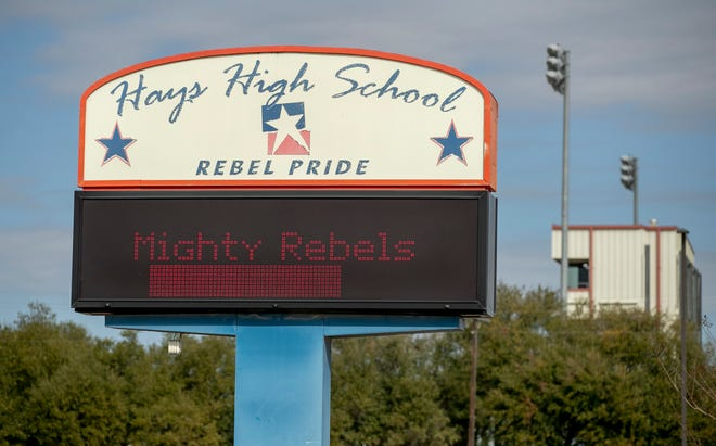 Hays High School students will be the Hawks as the school district replaces the Confederacy-linked Rebel mascot in the fall.