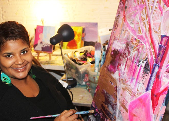Area artist Dara Harper is a lead community activator for the new  Akron Black Artist Guild.